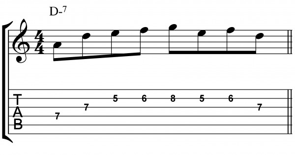 jazz guitar licks