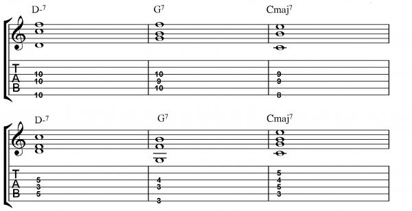 Comping With Bass Lines Guide - Jamieholroydguitar Com