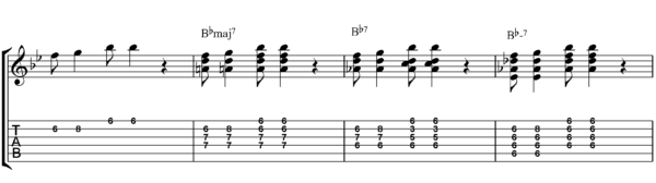 jazz guitar chord solos