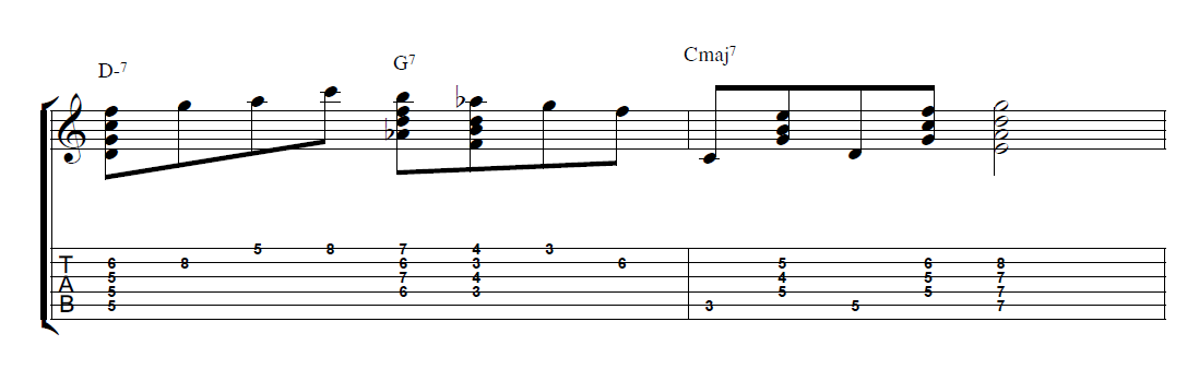 How to Play Chord Melody Guitar - JamieHolroydGuitar.com - Jamie ...