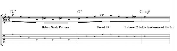 Nice guitar lick scale about her