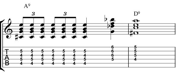 chord lick