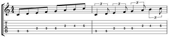 jazz guitar rhythm