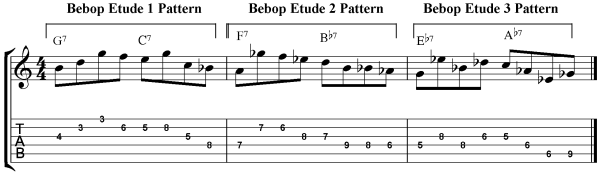 Bebop Guitar Exercise mix