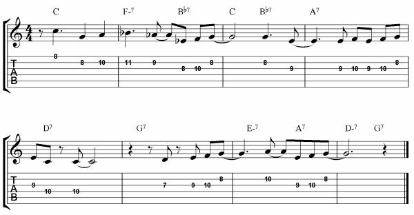 bebop tunes - Yardbird Suite