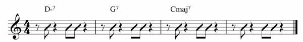 Comping Rhythms Ex 12