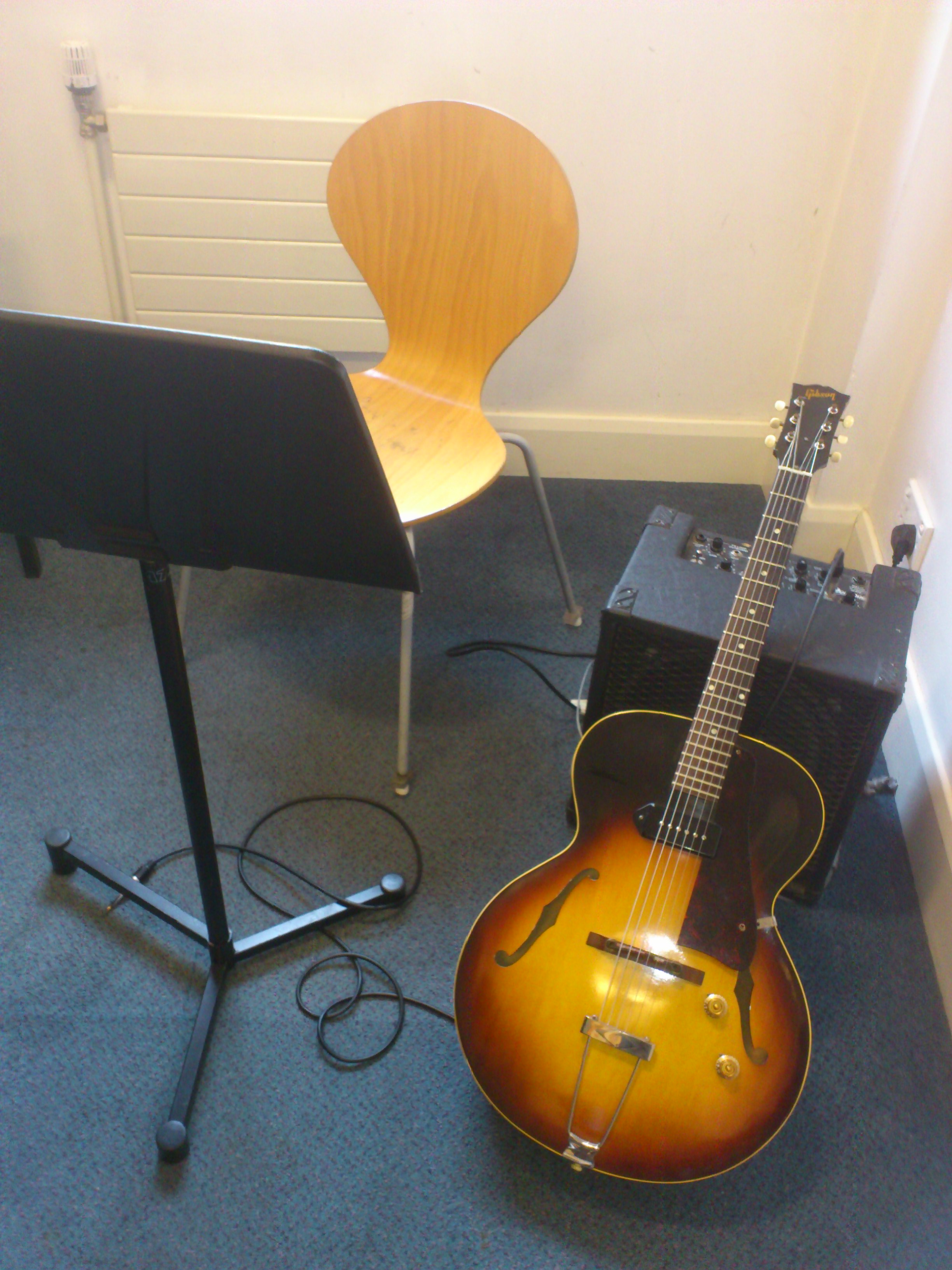 Jazz guitar practice routine