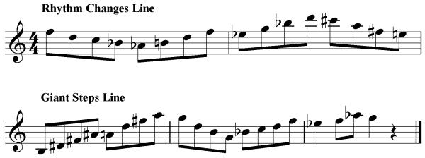 Jazz Guitar Sight Reading Exercises 6 – Bebop