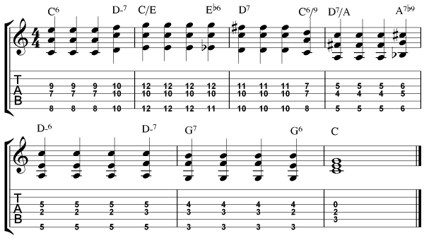 Take The A Train Chords Study 3