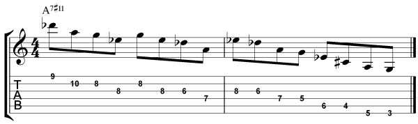modern jazz guitar licks 4
