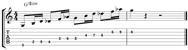 modern jazz guitar licks 5