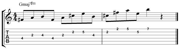 Lydian Pattern 3