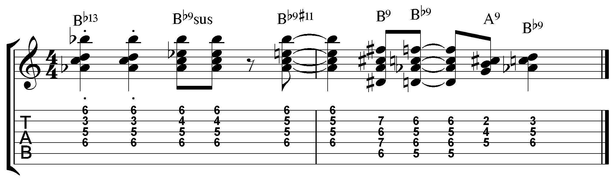 5 Jazz Guitar Chord Studies Jamie Holroyd Guitar Jamie Holroyd