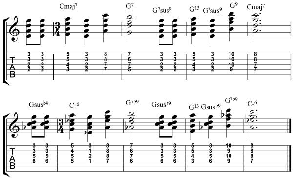 3 Reharmonization Techniques  - Happy Birthday