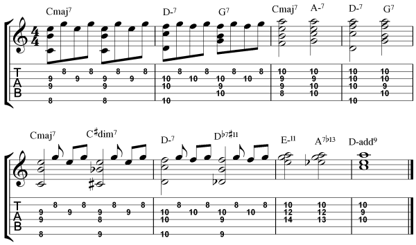 3 Reharmonization Techniques - Somewhere Over