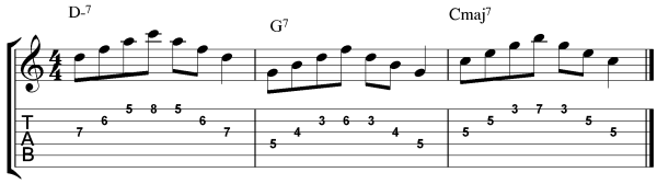 jazz guitar arpeggio exercises 3 new