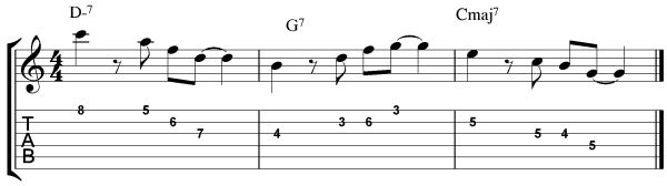 jazz guitar arpeggio exercises 6