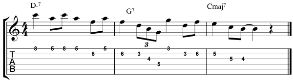 jazz guitar arpeggio exercises 7