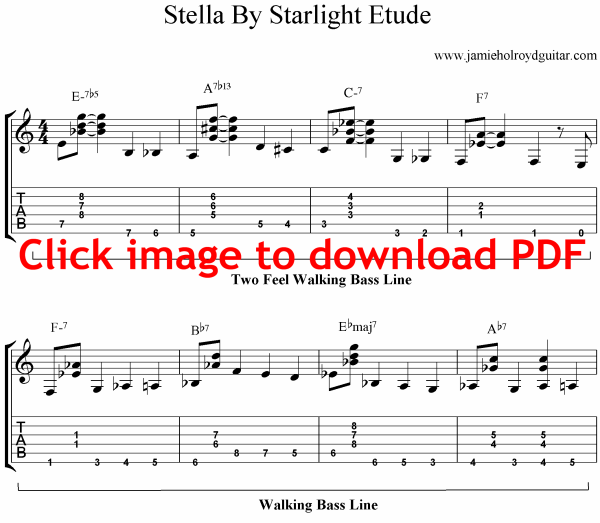 stella by starlight guitar solo