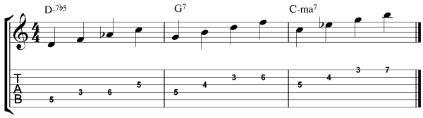 How to Improvise Over Minor ii-V-I Progressions - Step 1