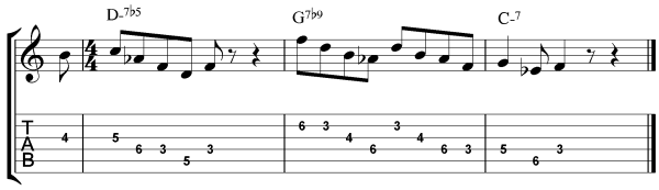 How to Improvise Over Minor ii-V-I Progressions - Step 3