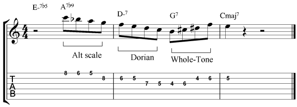 guitar scale exercise example 5