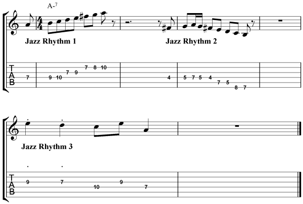 Beginner Jazz Improvisation Techniques - Rhythm 4