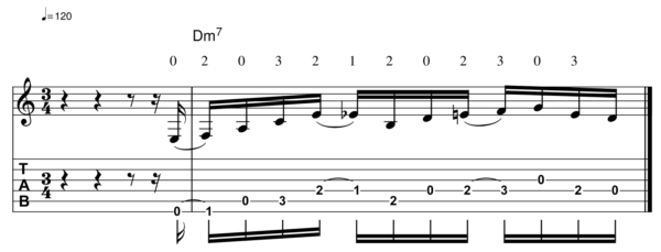 pat martino licks -Melodic Line 10-1