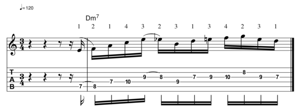 pat martino licks -Melodic Line 12-1