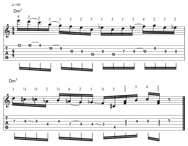 pat martino licks -Melodic Line 13-1