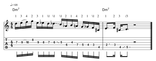 pat martino licks - Melodic Line 2-1