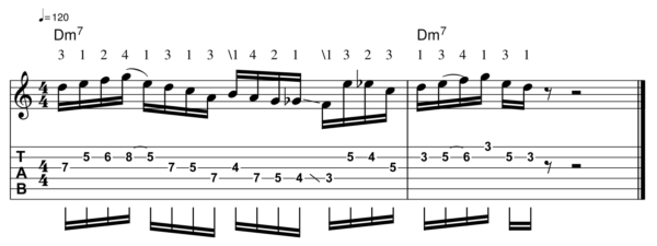 pat martino licks - Melodic Line 7-1