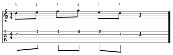 pat martino licks - Pattern 6-1